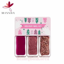 MISSHA Holiday Nail Kit 5ml*3ea [Holiday Collection], MISSHA